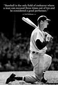 Famous Baseball Quotes Classy Ted Williams Baseball Famous Quote Archival Photo Poster Baseball