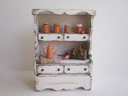 miniature doll furniture. miniature dollhouse furniture rustic kitchen by mycupteaminiatures doll