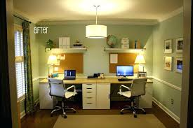 double office desk. Bedroom Office Desk Stunning Double Ideas My Exact Idea For Our Guest Computer