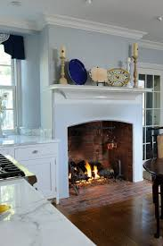 9 cozy kitchens with fireplaces kitchen inspiration