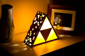 if you dont have enough triforce paraphernalia or tastefully dim lighting in your room etsy user pete betcher has you covered with this awesome triforce awesome lighting