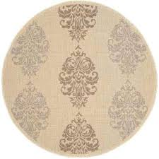 5ft round rug courtyard 5ft x 8ft area rug