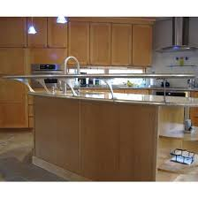 easily create a floating countertop with federal brace s foremont counter mounted countertop bracket kitchensource com