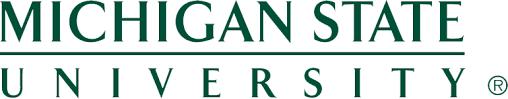 Michigan state university Logos