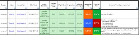 Excel Crm Templates Crm For Sales W5 Templates An Excel Based Crm And Project