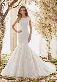 Extravagant Soft Net Wedding Dress Skirt Style 6842 Morilee
