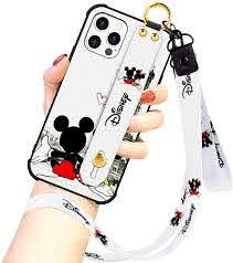 Amazon.com: DISNEY COLLECTION Designed for iPhone 12 PRO MAX Case, Disney  Mickey Couple Street Fashion Wrist Strap Band Protector Phone Cover Lanyard  Case for iPhone 12 PRO MAX 6.7 Inch 2020