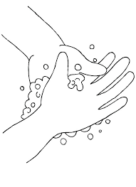 wash your hands coloring page pages images hand washing colouring sheets handwashing cdc