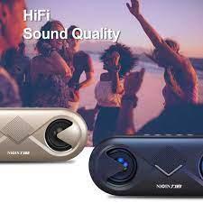Ngoài Trời Bluetooth 5.0 Loa 4D Âm Thanh Stereo Không Dây Loa Đôi Sừng Hỗ  Trợ Thẻ TF/USB/AUX|Loa xách tay