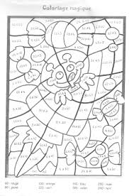 Coloriage Magique Table Multiplication L