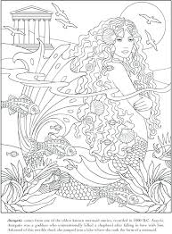 Mermaids To Color Houseofhelpccorg