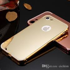 mirror iphone 7 plus case. cool mirror iphone 7 plus case aluminum ultra thin metal bumper tomkas clear pc back cover frame for 6 6s silicone cell phone e