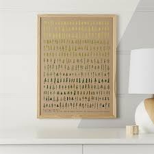 on artisan wall art clearance with pine family framed wall art reviews crate and barrel