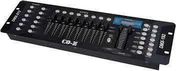 co-z 192 DMX 512 Stage DJ Licht Controller Beleuchtung Party Pub Night Club  DJ KTV beweglichen Köpfe: Amazon.de: Musikinstrumente