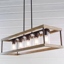 essentials adeline crystal rectangular chandelier