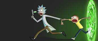 2560x1080 Rick and Morty Portal ...