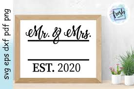 These vector designs can be used for wedding invitation cards and for other occasions, also for cutting machines like the cricut, silhouette etc. Mr And Mrs Svg Wedding Svg 2020 Marriage Svg 536059 Svgs Design Bundles