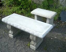 concrete garden bench. Decorative Garden Benches Small Concrete Ideas Brilliant Outdoor House Interiors Bench T