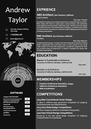 Dark Word Architect Resumecv Template Word Resume Templates