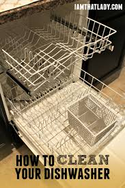 How To Clean A Dishwasher Drain How To Clean Your Dishwasher