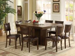 architecture square dining table counter height table marble top home within square dining room table