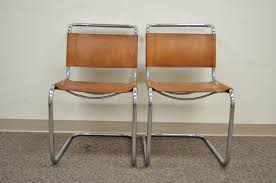 leather and chrome chair. Pair Of Mr Brown Leather And Chrome Chairs Attributed To Mies Van Der Rohe For Sale At 1stdibs Chair