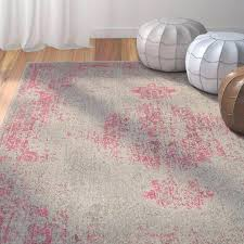 pink and gray rug pink and gray rug amazing bungalow rose area rug reviews inside pink pink and gray rug