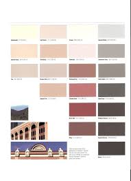 Expansion Joint Color Chart Page Two Terrazzo Divider