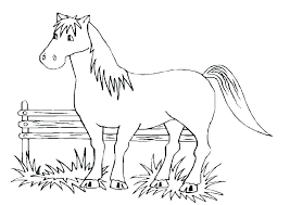 Free Printable Race Horse Coloring Pages Horse Coloring Pages