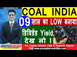 Coal India Share Price News 09 Low