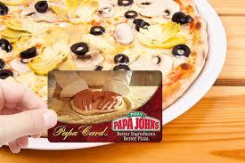 papa john s pizza with paypal