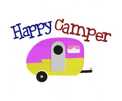 Embroidery Camper Designs Happy Camper Machine Embroidery Design For Gold Members Only