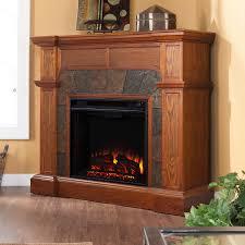 boston loft furnishings 45 5 in w 4700 btu mission oak wood veneer fan