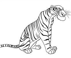 La Tigre Cattiva Di Mowgli E Il Libro Della Giungla Da Colorare