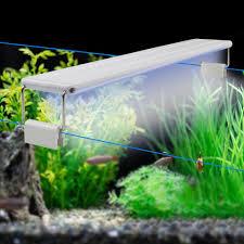 Fish Tank Light Bulb Us 8 24 29 Off 10w 15w 20w 25w Led Aquarium Light Clip On Fish Tank Light 220v Eu Waterproof Led Bar Tube Lamp Bulb Aquatic Plants Grow Light In