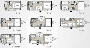 tiny house plan. Small House Trailer Floor Plans Palomino Gazelle Travel Floorplans Tiny Plan