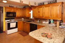 granite countertops with oak cabinets f14 for your top designing home inspiration with granite countertops with