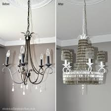 Diy Chandelier Incredible Wire Chandelier Diy Diy French Beaded Chandelier Made