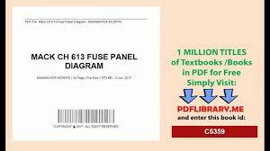 1999 mack truck fuse panel diagram wiring library mack cv713 fuse box diagram mack truck ch613 fuse diagram wiring 1998 mack