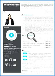 Visual Resume Templates Classy Visual Resume Template Word Visual Resume Templates Inssite Cv Free