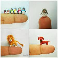Crochet Animal Patterns Inspiration Miniature Crochet Animals Free Patterns
