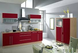 Decoration Cuisine Rouge Gris Pohovkainfo Cuisine Rouge Et Gris