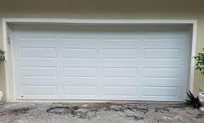 16x7 long edit 25 amarr oak summit garage doors short panel bead board impact gl no gl white and dark brown