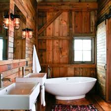 Rustic Interior Design Ideas Rustic Barn Bathrooms
