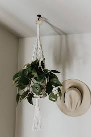 Medium Macrame Plant Hanger; Medium Macrame Plant Hanger ...