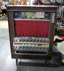 What Happened To Cigarette Vending Machines Interesting Mid Century National Vendors 48 Series 48Slot Cigarette Vending