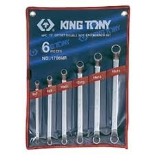 «<b>Набор ключей</b> накидных <b>KING</b> TONY 6 предметов 1706MR ...