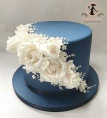 Saphire Wedding Anniversary Cake Cakecentralcom