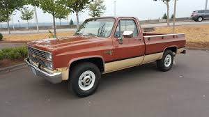 1983 Chevy Scottsdale C20 108k Miles Two Wheel Drive - Used ...