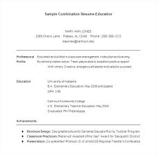 Free Combination Resume Template Modern Combination Resume Template 100 Free Professional 38
